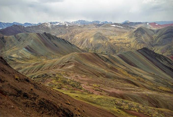 Rainbow Mountain Peru Elevation