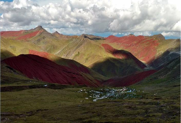 Rainbow Mountain Peru Elevation